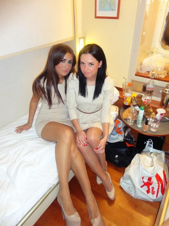 Group pantyhose lesbo squirt