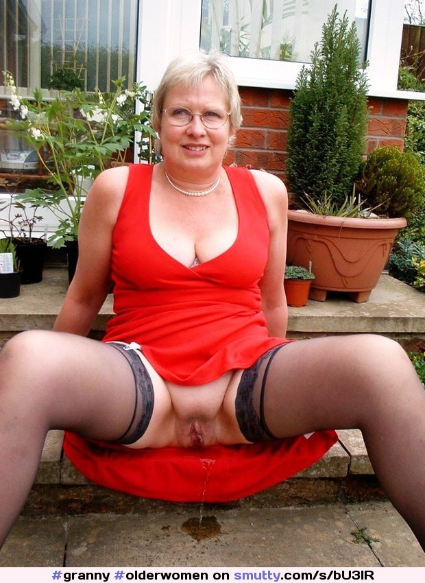 Stockings grannies pissing handsome