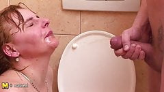 Domination messy shower erotic