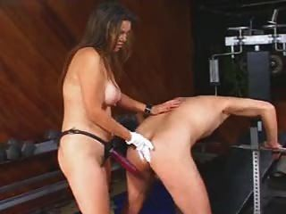 pegging handsome swingers Gym