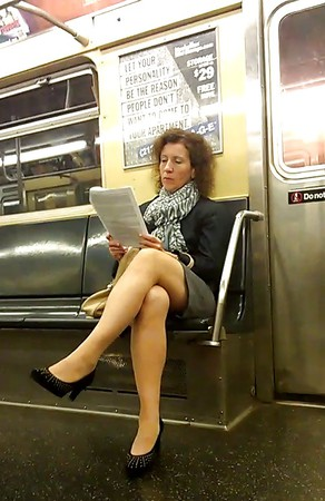 subway Pinupfiles amateur girlfriend