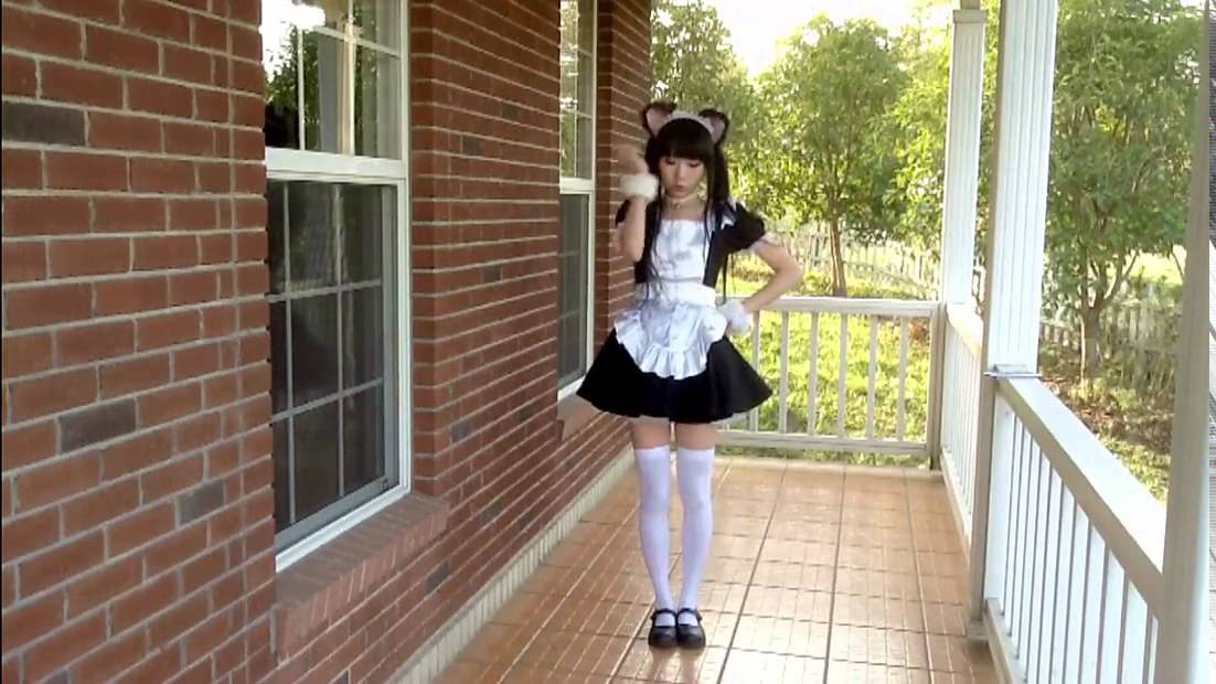 maid shared shaved Cute
