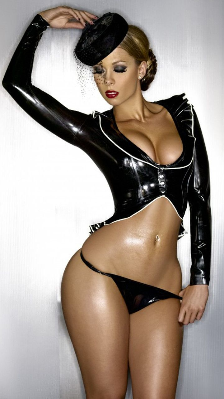 girl latex old Sexy
