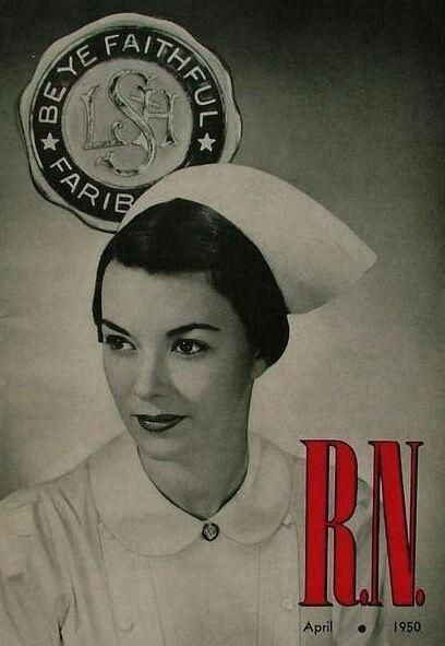 gym throat Nurse retro