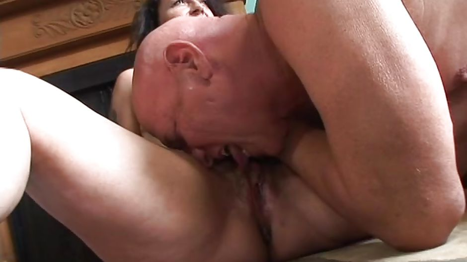licking pegging Squirt grannies