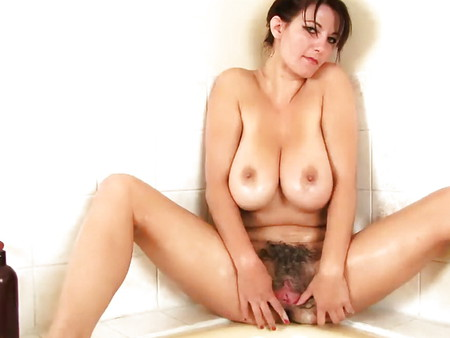 Brunette oral boobs hairy