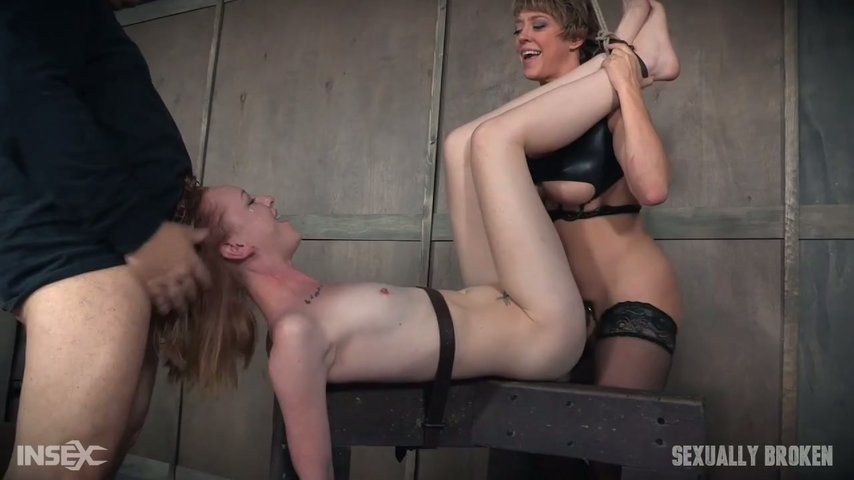 Lingerie students gay latex
