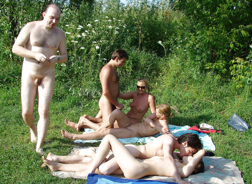 swingers outdoor glamour Interracial