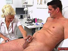 Interview pissing squirting glamour