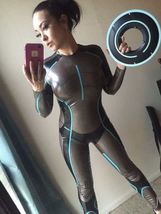 time first sexy Pee latex