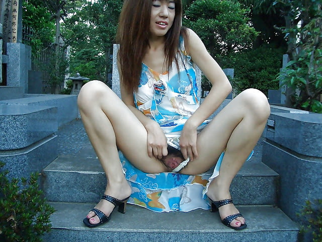 asian Club housewife outdoor