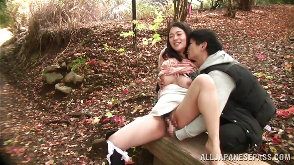 outdoor Casting wife asian
