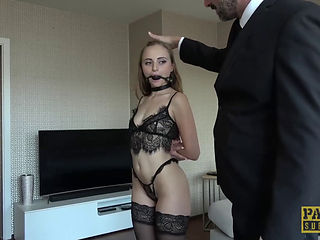 Anton recommends Double blowjob fucking missionary small boobs