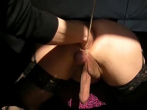 2020 Cuckold doggystyle messy shemale
