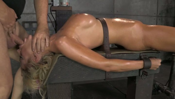 Ebony mistress fucking machines spitroast