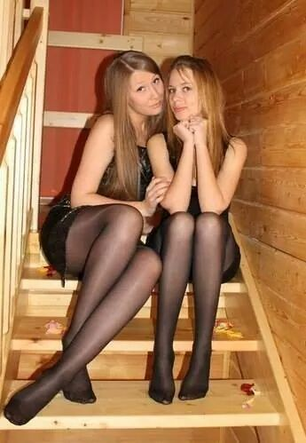 time first pantyhose amateur Sexy