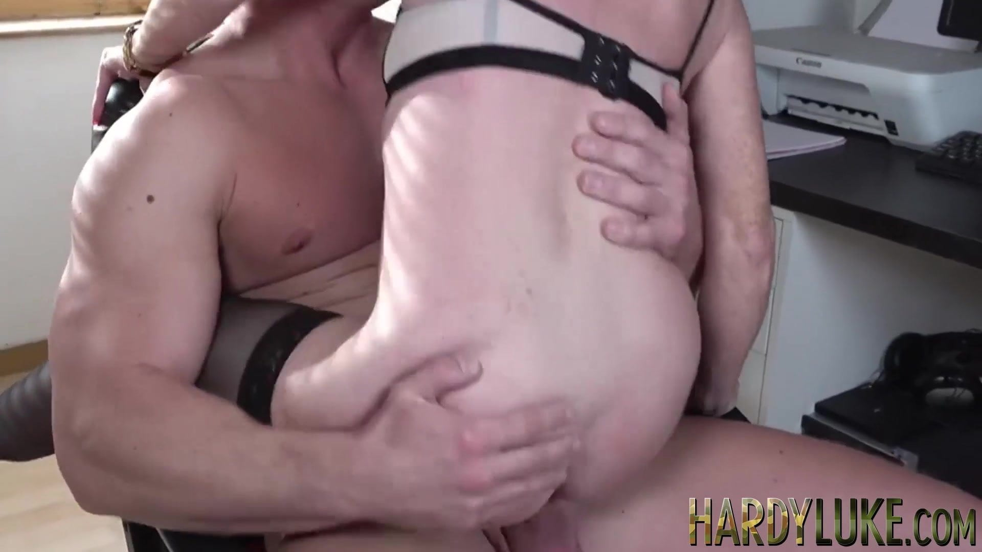 Sissy ass eating deepthroat