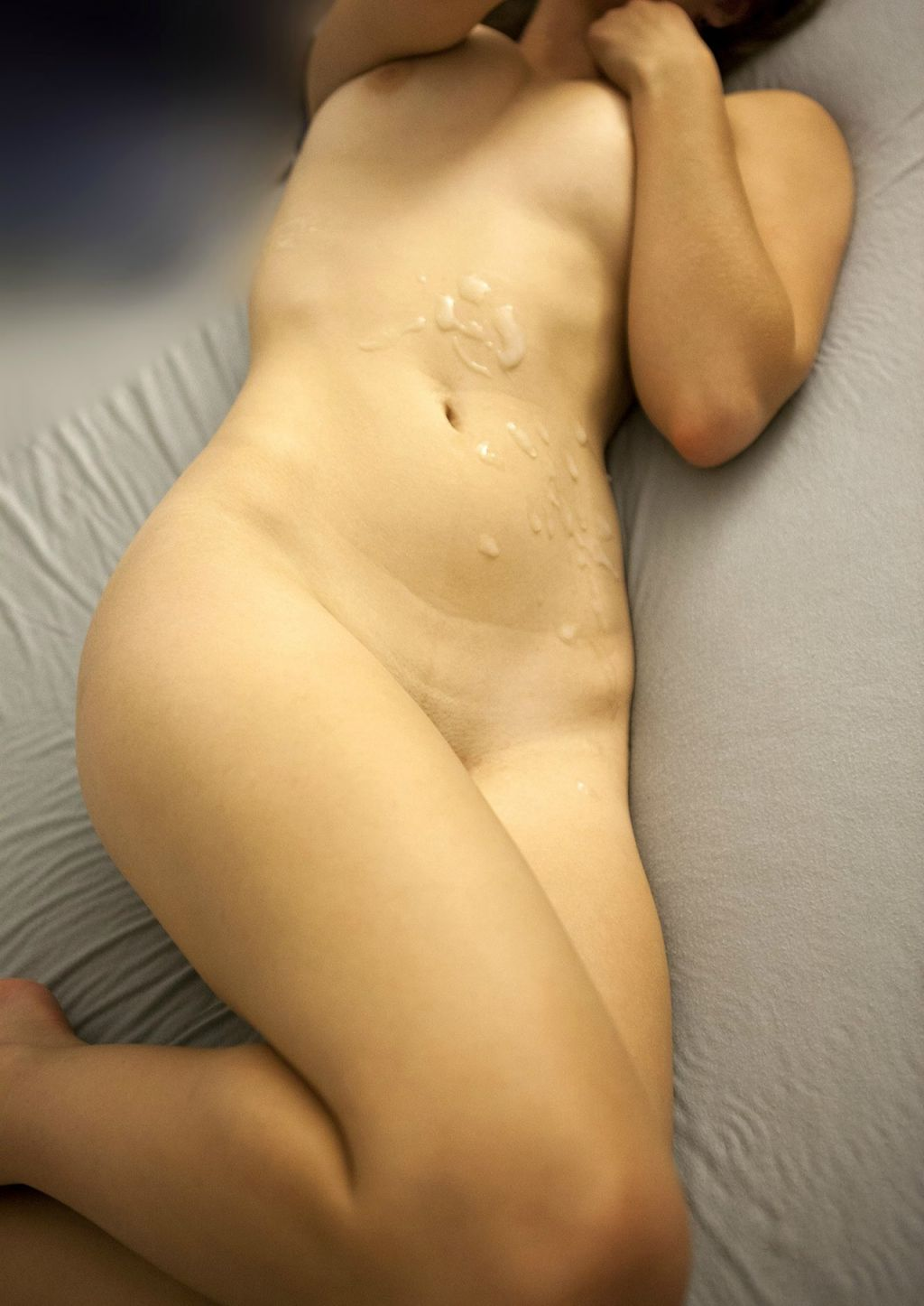 belly woman panties Shaved